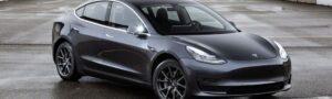 Electric cars - Tesla Model 3